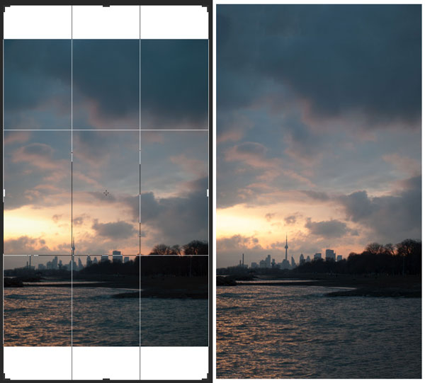 How to Use Photoshop CC's Content Aware Crop Tool