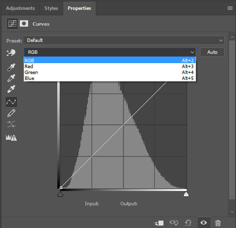 How to Correct Colours with a Curves Adjustment Layer