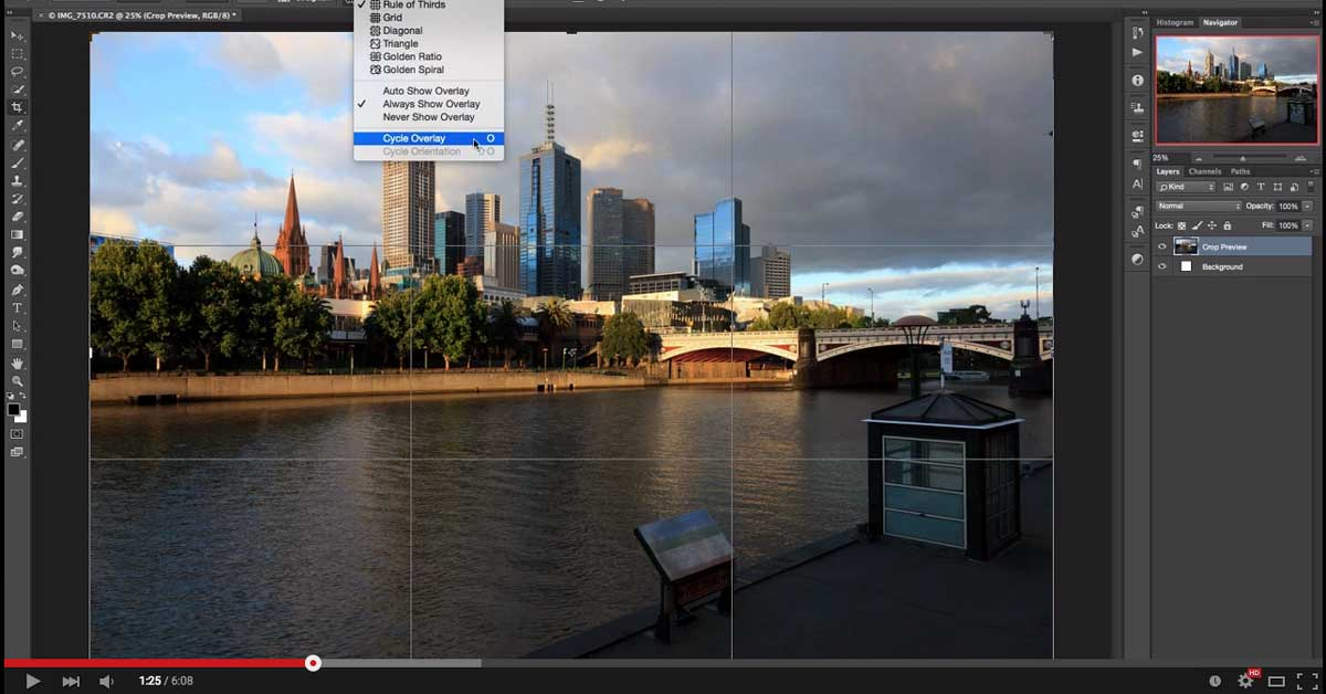 Video Tutorial: How to use the crop tool to make your image composition better
