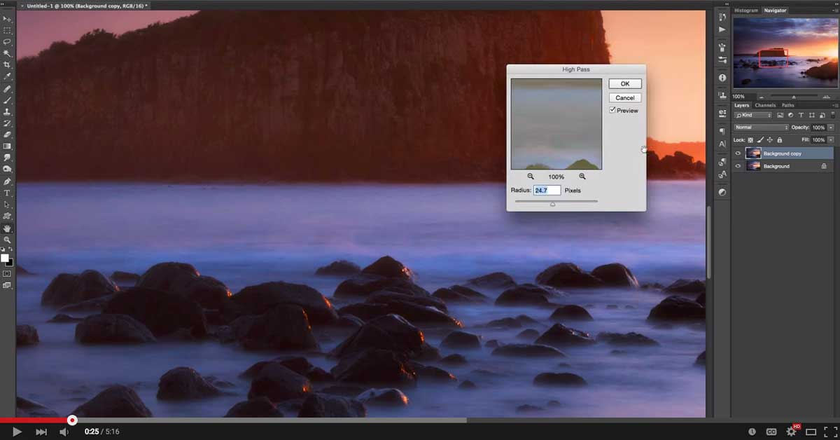 Photoshop Tutorial: How to use the high pass filter to sharpen and increase detail in your photos