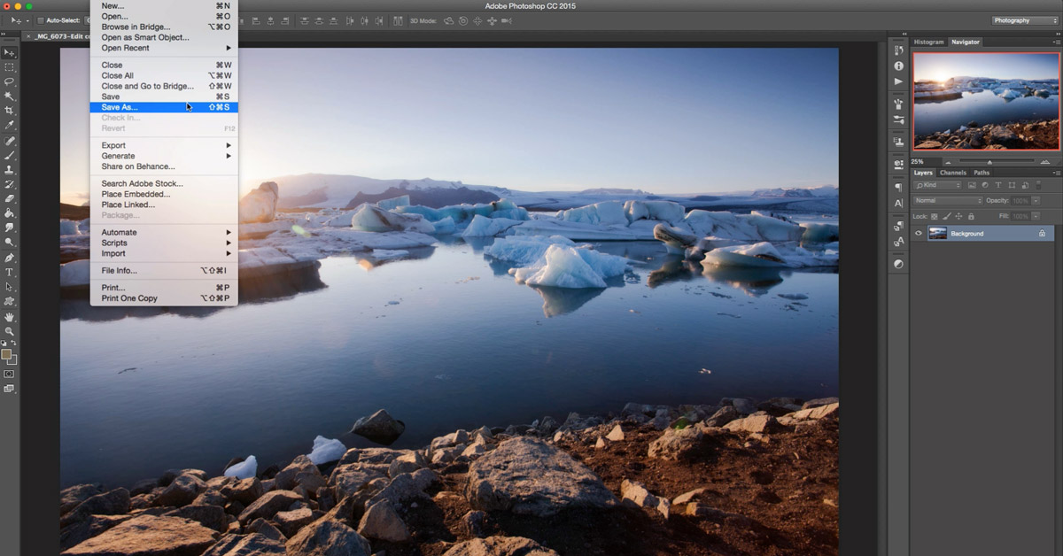How to save JPEGs in sRGB from Photoshop and Lightroom
