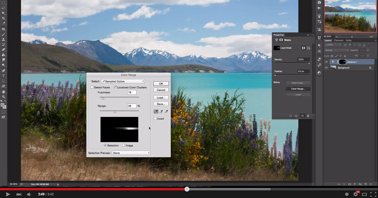 Photoshop Tutorial: How to selectively boost vibrance and saturation